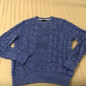 Banana Republic Cable-knit Crewneck Sweater